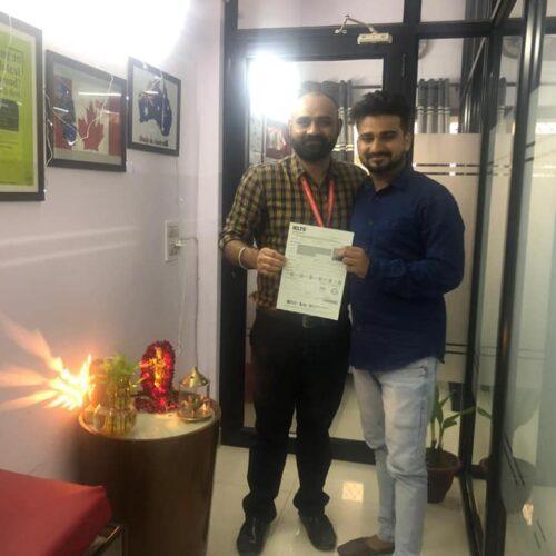Congrats Ashwani Aggarwal Score 7+ bands in IELTS