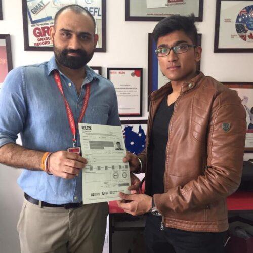 Congrats ConCordian Piyush Gupta #IELTS score-7.5 bands