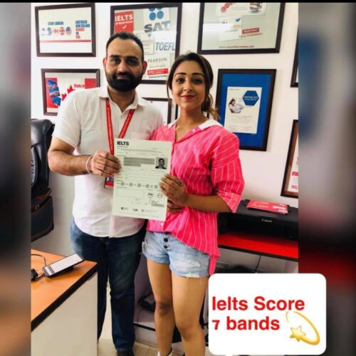 Congrats Concordian Aishwarya Singh💫Score 7+ bands in IELTS
