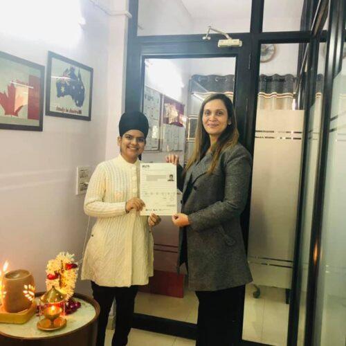 Congrats Heena Bhatia Ielts score-8 bands