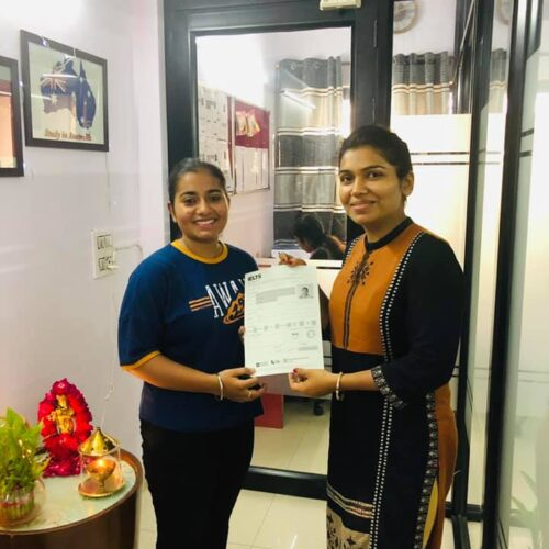 Congrats Ramandeep Kaur Ielts score-7 bands Score 7+ bands in IELTS
