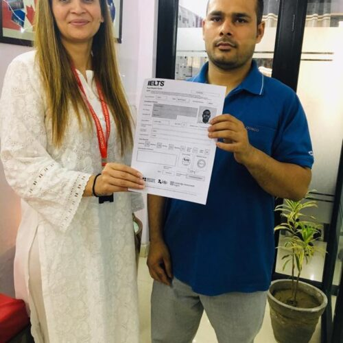 Congrats Rohit Choudhary Score 7+ bands in IELTS