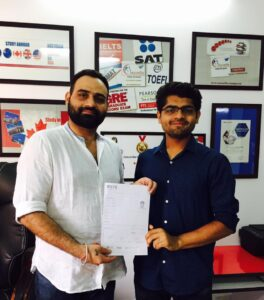 Congratulations for scoring 8 bands in IELTS yash