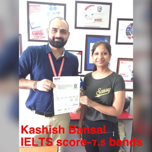 Score 7+ bands in IELTS